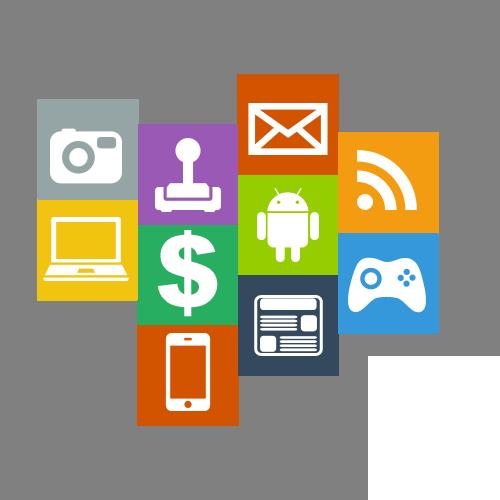Uvodna slika sa aplikacijama