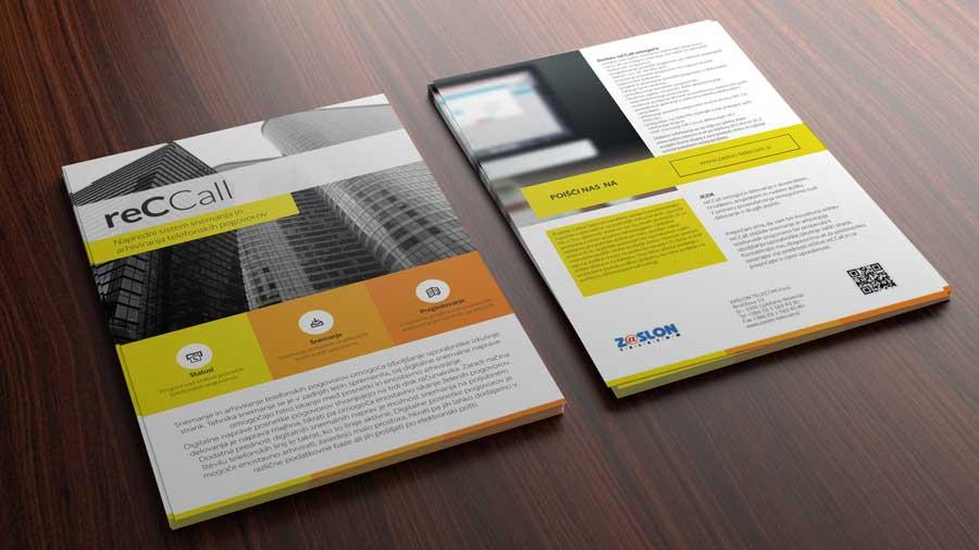 reCCall brošura